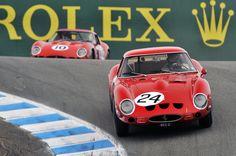 Ferrari 250 GTOs take to the track at Laguna Seca Monterey Peninsula, Local Events, Gto, Hd Wallpaper, Wallpapers, Mazda, Ferrari, Transportation, Automobile