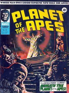 Marvel UK Planet of the Apes #46