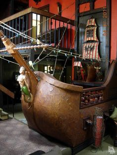 Pirate bar in home in Southern California