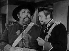 Sgt. Demetrio Lopez Garcia and Capt. Monastario. Classic Zorro