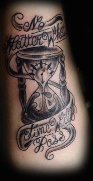 http://tattoo-ideas.us #Hourglass tattoo My latest...LOVE ...