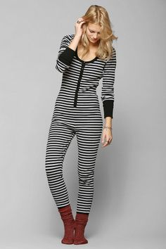 BDG Kozy Kevin Long-Sleeve Jumpsuit. If only this would be long enough.