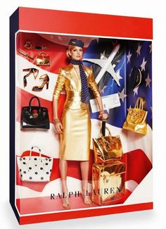 Ralph Lauren Barbie doll editorial// Photo by Giampaolo Sgura for Vogue Paris