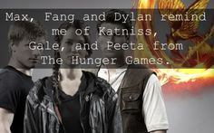 max ride and hunger games.   except dylan sucks