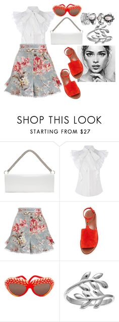 """""""."""" by vronvron ❤ liked on Polyvore featuring Vetements, Zimmermann, Tory Burch, Isabel Canovas and Belk Silverworks"""
