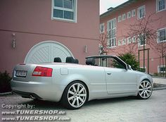 2004 Audi A4 Cabriolet with MTM wheels