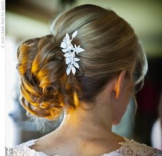 Embellished Bridal Updo