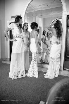 Editorial de Ano Novo   Looks e vestidos brancos carregados de desejos para o…