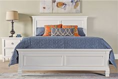 Albany Queen Panel Bed - 360
