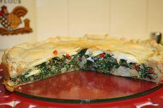 Tarta de verduras argentina (Pascualina)
