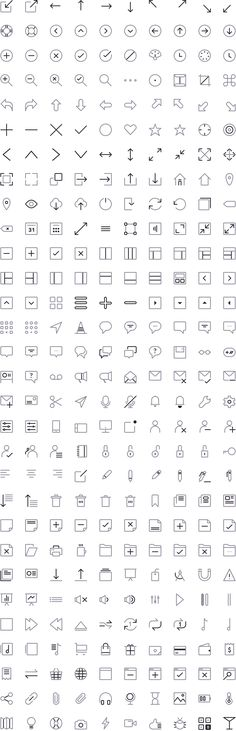 Free Download : CompassCons 300 Sketch Icons