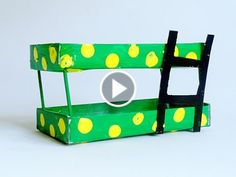 Recycled Craft ideas: Creative way to make bunker bed using old matchbox - YouTube