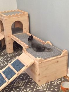 Grand Deluxe Rabbit Shed Hutch with Run - Check out the whole ROOM!Grand Deluxe Rabbit Shed Hutch with Run - Check out the whole ROOM! Diy Bunny Cage, Diy Bunny Toys, Bunny Cages, Indoor Rabbit House, House Rabbit, Rabbit Hutch Indoor, Indoor Rabbit Cages, Rabbit Shed, Pet Rabbit