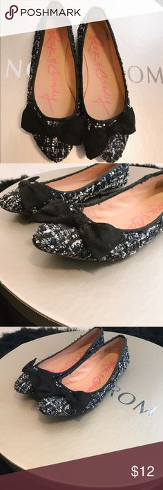 46f1f3c8376 Shop Women s Rock   Candy Black Blue size 10 Flats   Loafers at a  discounted price at Poshmark. Tweed black blue and white.