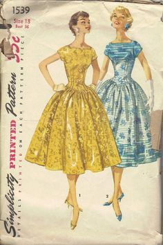 Simplicity Vintage Sewing Pattern Women's by AdeleBeeAnnPatterns, $25.00