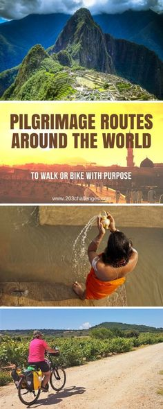 Pilgrimage routes around the world to walk or bike with purpose   203Challenges