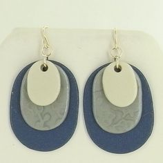 Lovely!!! Our new oval cutters make these earrings a great DIY jewelry project. Oval Layered earrings