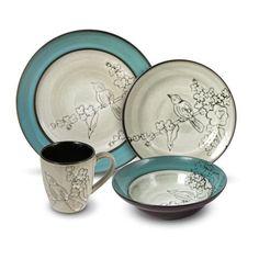 "Mikasa Dinnerware Set-- Definitely on my wishlist! Would love a nice ""fancy"" set of plates!"