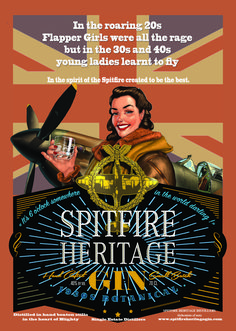 Spitfire Heritage Distillers provide one of the finest artisan Gin & Vodka spirits in the United Kingdom. See more about our brand and story here! The Spitfires, Learn To Fly, Heritage Brands, Young Women, Gin, Vodka, Cocktails, Learning, Board
