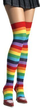 Thigh High Rainbow