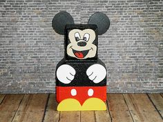 Mickey Mouse Patio Paver Painted Bricks Crafts Pavers Brick Rocks