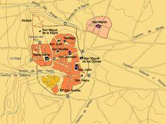Plano de Madrid del S. XII