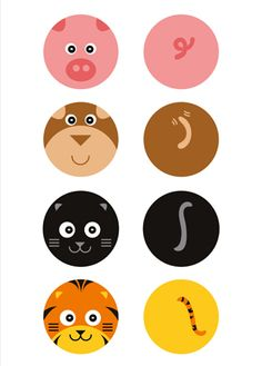 4 Animals Poster on Imposters | Imposters.in | Buy Posters Online