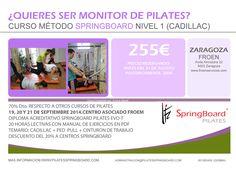 #Pilates #Pilates Springboard #EVO-T #Curso Pilates #Zaragoza #Formación #Pilates maquinas