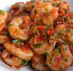 Yucatan Shrimp by Randy Wayne White, Doc Ford's Sanibel Rum Bar & Grille, Sanibel Island, Florida- Best Shrimp Ever!!!!