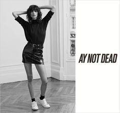 Mica Arganaraz and Filip Hrivnak for AY Not Dead