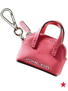 Michael Michael Kors Cindy key and handbag charm —one more way to keep a little bit of that Michael Kors style with you at all times