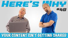 The amount of effort you put into a published piece of content does not always correlate to the amount of social shares it ends up getting. It can get frustrating; you put a lot of time and effort in, just to find a small or nonexistent audience. Never fear, Eric and Mark are here to not only tell you why your content isn't getting shared, but how to turn it all around and become a content marketing machine. Don't miss a single episode of Here's Why with Mark & Eric or any of our other…