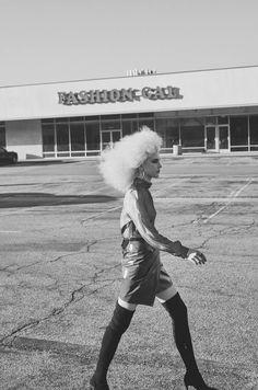 Publication: Factice Magazine Photographer: Williams + Hirakawa Styled by: Tracy Cyprow Makeup: Natasha Severino Hair: Makiko Nara Model: Gisele Pletzer @Hollywood Model Management