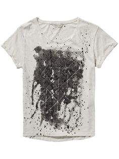 T-shirt met graphics