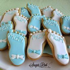 Image from http://3.bp.blogspot.com/-_M02eXuGz4Y/VNlAhtpu5QI/AAAAAAAAMZ8/wMGh1gOE9Ig/s1600/decorated%2Bsugar%2Bcookies%2Broyal%2Bicing%2Bcustom%2Bbaby%2Bshower%2Bfoot%2Bbow%2Bfrederick%2B%2Bmaryland%2Bmd.jpg.