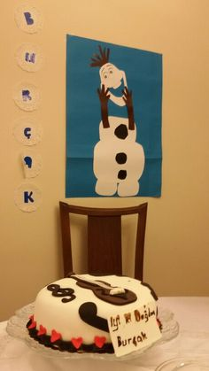 Frozen Olaf at our Birthday