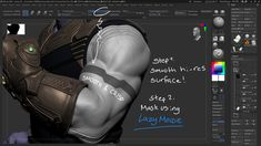 ArtStation - Thanos' 10 Easy Steps to Hard Surface Success in ZBrush, Morten Jaeger