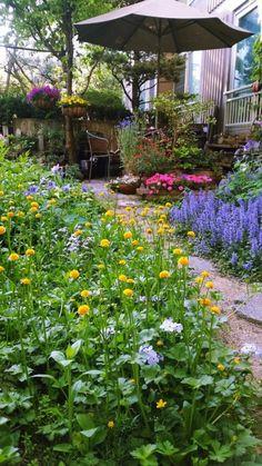 Table Flowers, Garden Design, Beautiful Places, Landscape, Interior, Blog, Inspiration, Entry Doors, Vegetable Garden