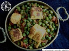 Paneer and Pea Curry - Food like Amma used to make it