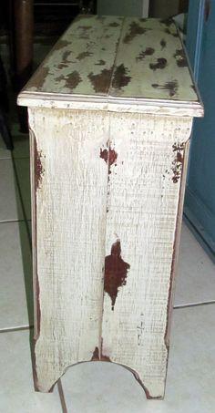 Banco em madeira Marcenaria: Miguel Canonico Pátina: Cristiane B Pires