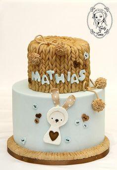 christening cake by grasie