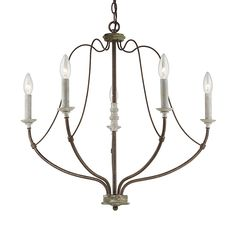 Candelabra Bulbs, Ceiling Fixtures, Traditional Lamps, Farmhouse Lighting, Light, Sea Gull Lighting, 5 Light Chandelier, Candelabra Light, Chandelier