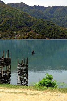 Take me back to my boat on the #Phewa_Lake #Pokhara #Nepal