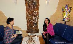 Naśladownictwo nie ma sensu - rozmowa z Izabellą Jarską. Gospodarzem i Mecenasem wywiadu jest Salon Medi SPA w Warszawie. http://artimperium.pl/wiadomosci/pokaz/739,nasladownictwo-nie-ma-sensu-rozmowa-z-izabella-jarska#.Vy-j7YSLTIW