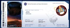 I just sent my name to fly on Orion's flight test, scheduled to launch Dec. 4 - 6, 2014! Orion is NASA's new spacecraft that will carry humans into deep space.  View My Boarding Pass: http://mars.nasa.gov/participate/send-your-name/orion-first-flight/?cn=57628 Get Your Own Boarding Pass On NASA's #JourneyToMars ! Send your name here: http://go.usa.gov/vcpz