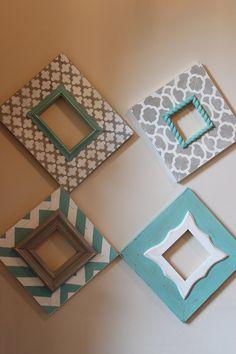 Apenado personalizado para que coincida con tu cuarto/oficina/cocina/juegos de cama    Trébol - 4 x 6 apertura (11 x 13 total)    Marruecos 4 x 4