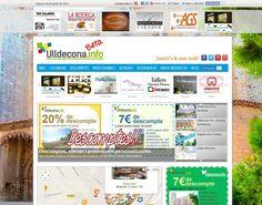 Ja está online www.Ulldecona.info, estem en fase #beta, encara treballant amb moltes de les funcionalitat i continguts, falten també completar moltes fitxes de comerç i professionals així com també tota la part referent a les entitats i a l'agenda.  El que no falta es la il·lusió d'haver posat ja la primera pedra en aquest projecte a la ciutat d'Ulldecona