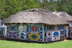 Artagence Architecture Africaine Ethnik  South Africa - Ndebele  #artagence