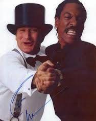 Dancing with Eddie Murphy.