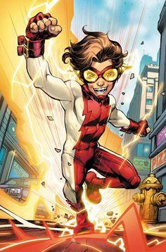 Wally West, Kid Flash, Impulse Dc, Doctor Light, Linda Park, Dc Comics Series, Flash Comics, The New Teen Titans, Superhero Memes